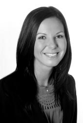 Black and white headshot of Jessica L. J. Rogers