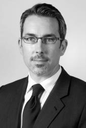 Black and white headshot of Kenneth J. Raddatz
