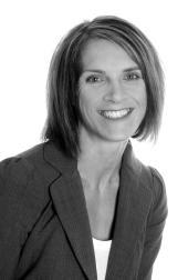 Black and white headshot of Linda M. O'Brien