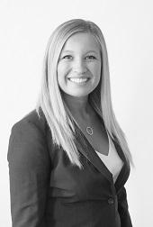 Black and white headshot of Samantha E. Slater